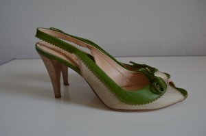 Tod´s Peeptoe Pumps High Heels Gr. 40 TOP
