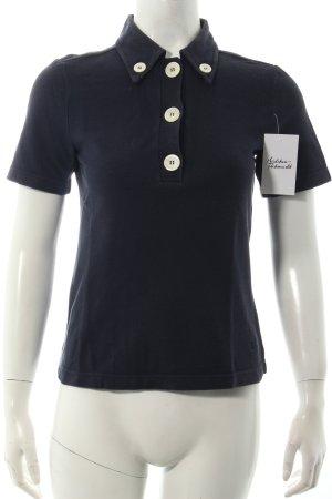 Tod's Polo-Shirt dunkelblau klassischer Stil