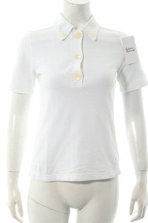 Tod's Polo-Shirt weiß klassischer Stil