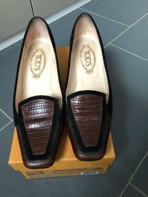 Tod´s Pumps in Bi Color braun - schwarz