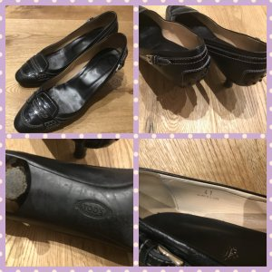 Tod's Loafers black leather