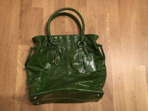 Tod's Re-styling D-Bag  Lackledertasche grün