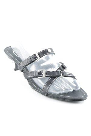 Tod's Riemchen-Sandaletten schwarz Street-Fashion-Look