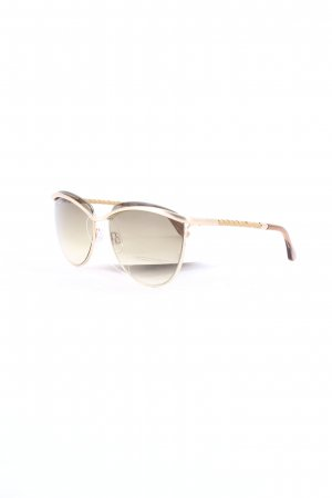 Tod's runde Sonnenbrille camel Casual-Look