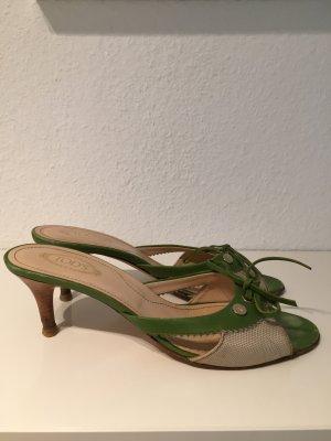 Tod's Sandalen in grün