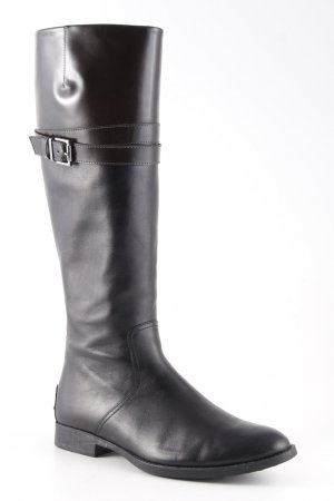 Tod's Jackboots black brown-dark brown casual look