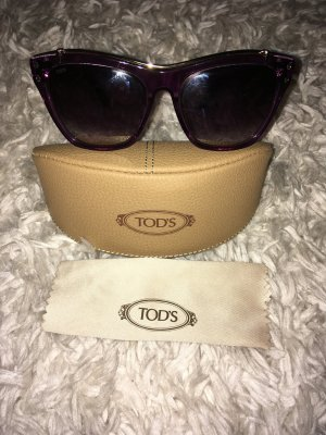 Tod's Sunglasses brown violet