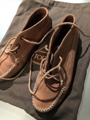 Tod's Mocassins marron clair cuir