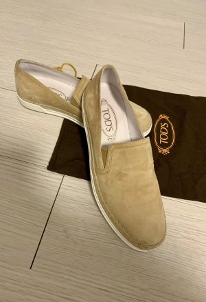 Tod's Espadrille Sandals white-light brown