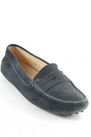 Tod's Slipper dunkelblau Casual-Look