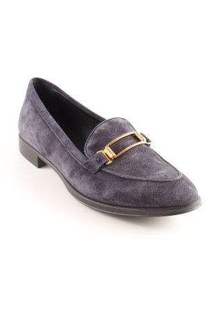 Tod's Pantoffels donkerblauw elegant