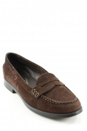 Tod's Slipper dunkelbraun Casual-Look