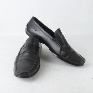 Tod's Slipper Gr. 40 schwarz Leder