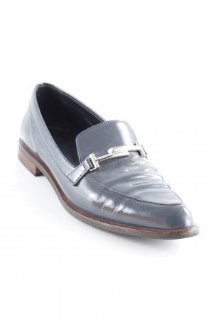 Tod's Slipper graublau Business-Look