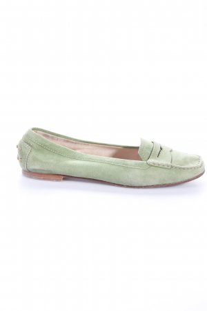 Tod's loafers green