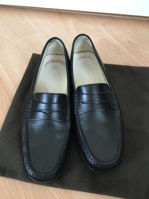 Tod's Slipper Loafer schwarz Gr 35 -w. Neu-