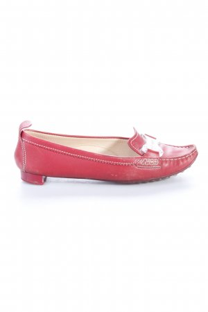 Tod's loafers red