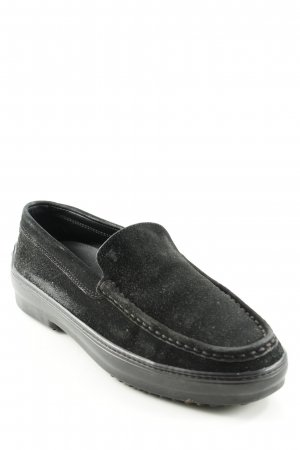 Tod's Slipper schwarz Business-Look
