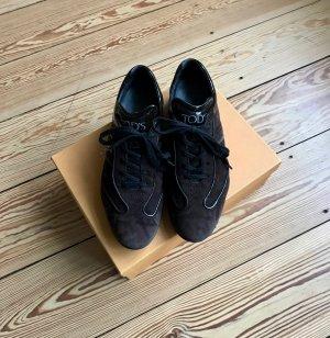 Tod´s Sneaker braun aus Veloursleder