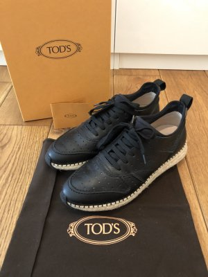 Tod's - Sneaker mit Bastsohle (NP 540 EUR)