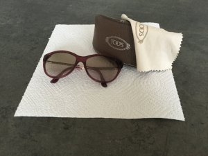 Tod's Butterfly Glasses raspberry-red synthetic material