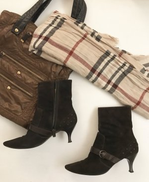 Tod's spitze kurze Stiefelette /Boots Booties 39 Leder