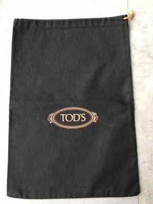 Tod's Canvas Bag orange-dark brown