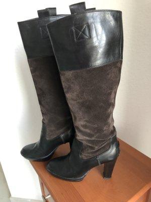 TOD's Stiefeln aus Leder, schwarz, elegant