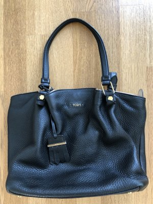 Tod's Pouch Bag black-pink leather