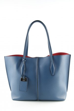 "Tod's Tote ""Joy Shopping Bag "" blue"