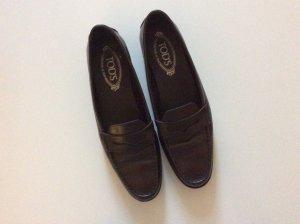 Tod's trendy Loafer in Dunkelbraun