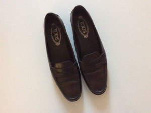 Tod's trendy Loafer in Dunkelbraun