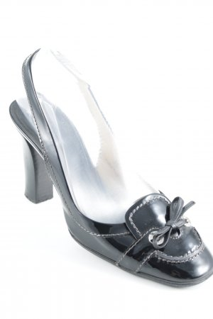 Tod's Loafers zwart zakelijke stijl