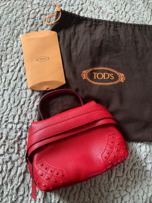TOD's Wave Bag Mini red