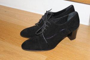 Tod's, Wildleder Ankle Boots, 38, schwarz, 1x getragen