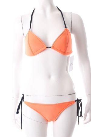 Todiefor Bikini neonorange sportlicher Stil