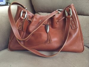 Tod's Tote cognac-coloured leather