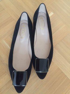 TODS Ballerina schwarz Größe 39