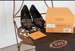 Tod's Ballerines brun-cognac