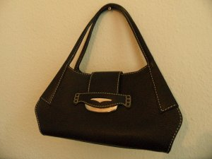 Tods Hand Tasche in Schwarz Leder Luxus!