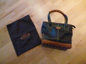 Tods Hand Tasche Schwarz/braun - Leder Luxus!