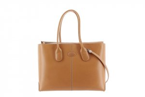 Tod's Satchel light brown leather