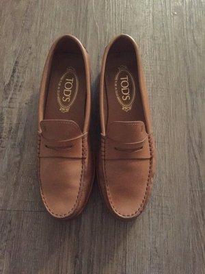 Tods Loafer Mokassins Gr. 37 Np 350 Euro echt Leder