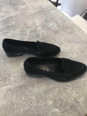 Tods Loafers Wildleder Gr 37,  KP 490€