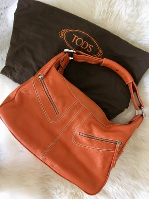 Tods, Original Lederhandtasche, Orange