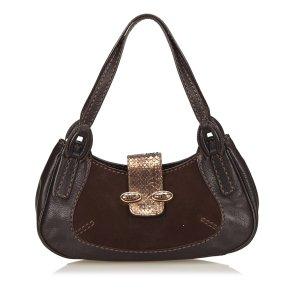 Tods Python Leather Handbag