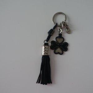 Tod's Portachiavi nero-argento Pelle
