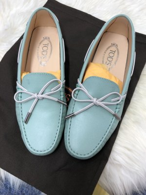 Tod's Moccasins lime-green
