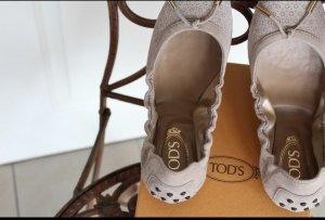 Tods Schuhe Flach Ballerinas Sandalen 37,5