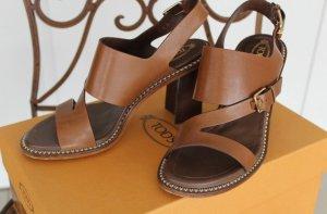 Tods Schuhe Sandalen Braun 37,5